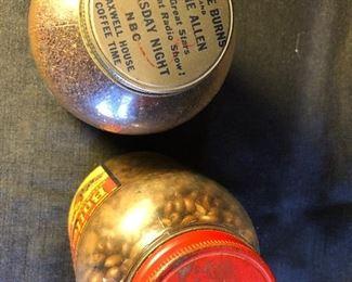 Vintage Glass Coffee Jars