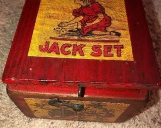 Vintage Arcade Jack Set.