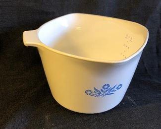 Vintage Corning Ware Blue Cornflower