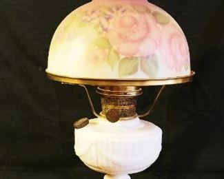 Aladdin Alacite Lincoln Drape Oil Lamp