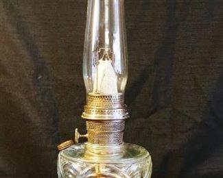 Aladdin Washington Drape Clear Glass Lamp