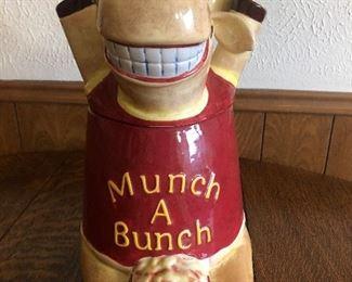 Moose Munch Jar Munch A Bunch Moose Cookie Jar--Ceramic--by Harry & David