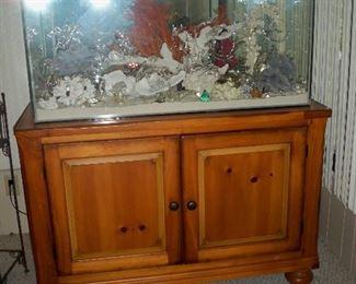 View of Cabinet and Aquarium