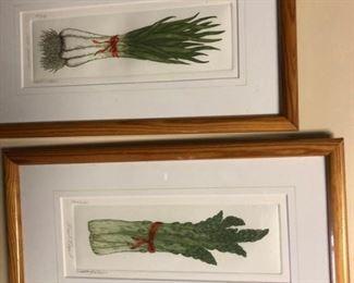 Veggie art signed & numbered