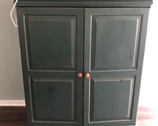 Modern farmhouse TV cabinet/armoire