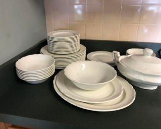 Staffordshire ironstone dinnerware