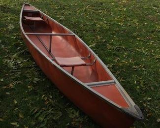 Coleman 15.5 ft. canoe - beautiful
