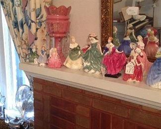 Royal Doulton Lady figures