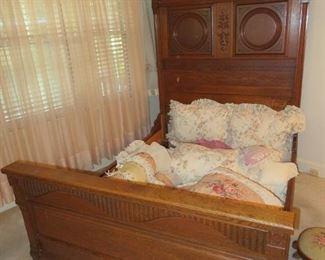 Antique Full size bed frame