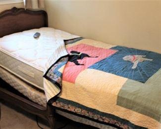 furniture electric twin bed
