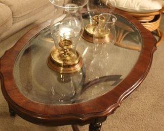 furniture glass coffee table