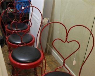 furniture ice cream chairs