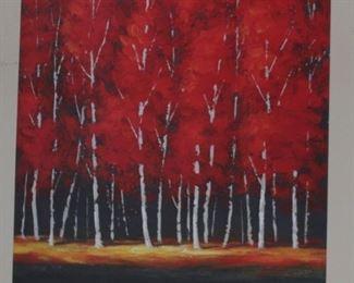 decor art red aspen