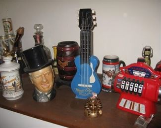 Collectible decanters-empty!