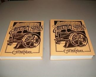 """""""American Gasoline Engines Since 1872"""" books by C.H. Wendel, Volumes 1 and 2."""