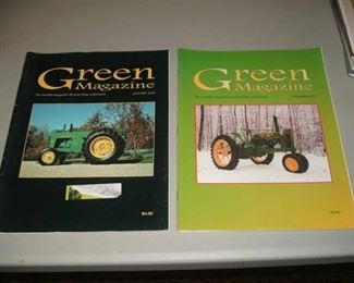 Green Magazine Assortment: Green Magazine, The monthly magazine for the John Deere enthusiasts