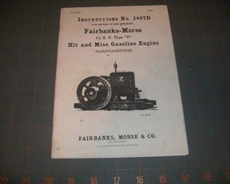 Fairbanks-Morse 1-1/2 hp Type Z engine