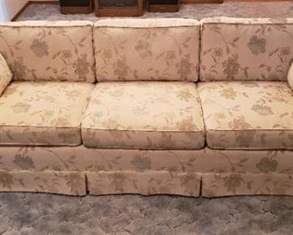Shuford Furniture 3 Cushion Couch - 85  x 35  x 25