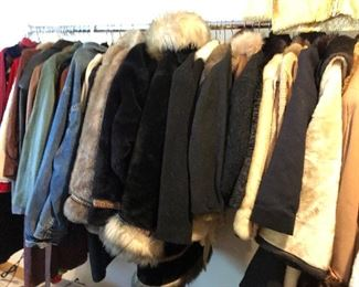 Winter coats, furs, denim, leather jackets, Opera coats and more