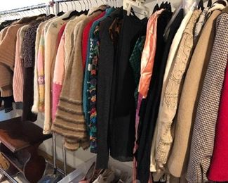 vintage men's and women's clothing