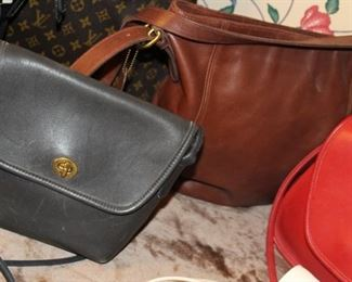 accessories Coach handbags leather vintage
