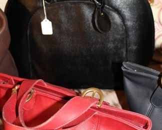 accessories Coach red handbags