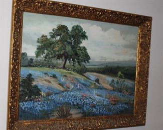 artwork bluebonnets