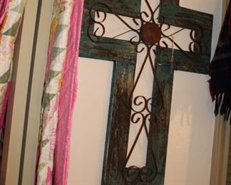 decor cross wall hanging