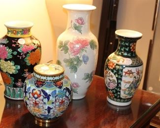 decor orientals vases
