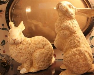 decor rabbits