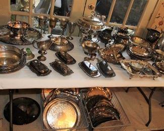 decor silver plate