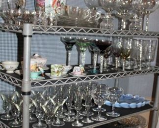formal stemware glassware