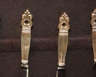 formal sterling flatware