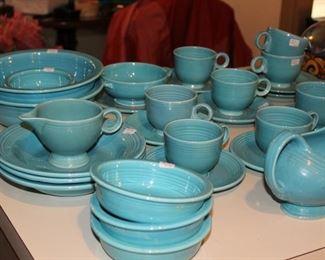kitchen turquoise Fiestaware