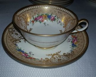 Tiffany, Cauldon ware continued