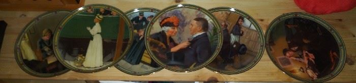 Rockwell plate collection