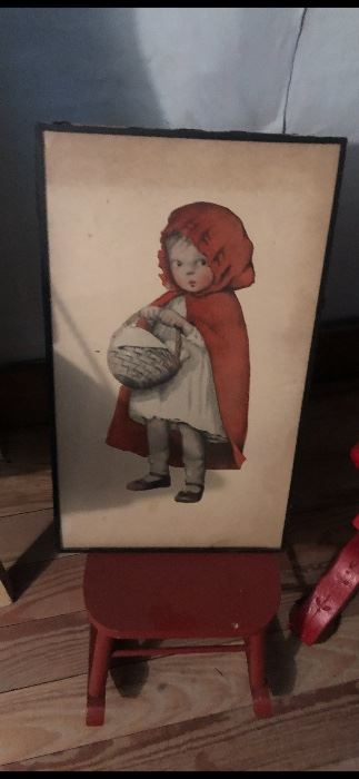 Antique Little Red Riding Hood
