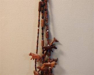 Hand Carved Necklace from Africa