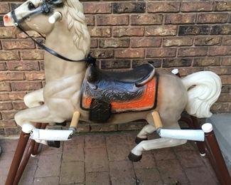 Vintage Rocking Horse