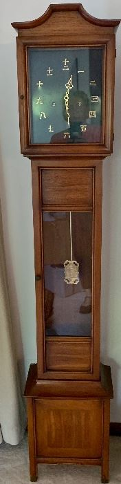 Mid century Korean Grandmother clock Model 1692 Colonial Zealand, Michigan