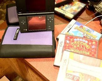 Nintendo DS W/ case & games