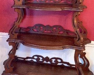 Eastlake carved Shelf