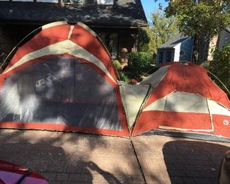 2 area tents