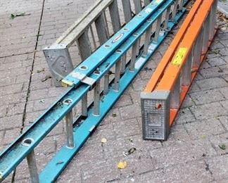 Extension, 8', fiberglass ladders