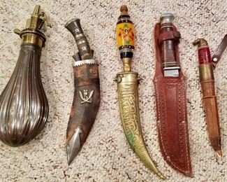 Collectible military style knives