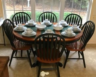 Eat in kitchen dinette table with chairs