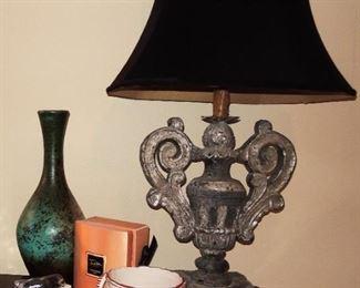 Unique Lamps, new perfumes, Italian pottery