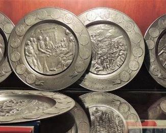 Heavy Bi-centennial Plate Collection