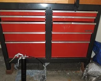 Craftsman tool storage