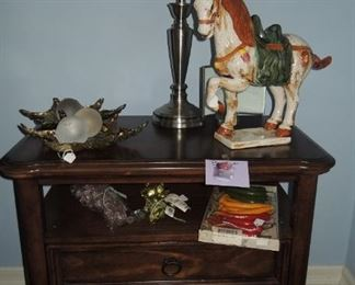 One of two Berhardt Side Tables